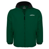 Dark Green Survivor Jacket-Arched Sacramento State Hornets
