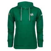 Adidas Climawarm Dark Green Team Issue Hoodie-S Mark