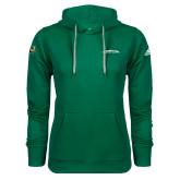 Adidas Climawarm Dark Green Team Issue Hoodie-Arched Sacramento State Hornets
