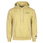 Champion Vegas Gold Fleece Hoodie-Official Logo Flat