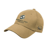 Vegas Gold Heavyweight Twill Pro Style Hat-Stacked Logo