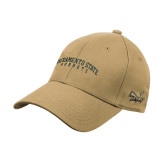 Vegas Gold Heavyweight Twill Pro Style Hat-Arched Sacramento State Hornets