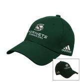 Adidas Dark Green Structured Adjustable Hat-Official Logo