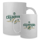 Full Color White Mug 15oz-2019 Womens Track and Field Champions