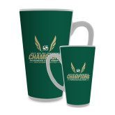 Full Color Latte Mug 17oz-2017 Big Sky Conference Mens Outdoor Track and Field Champions
