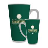 Full Color Latte Mug 17oz-2017 Big Sky Conference Mens Golf
