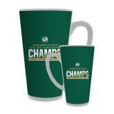 Full Color Latte Mug 17oz-2017 Big Sky Conference Womens Golf