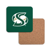 Hardboard Coaster w/Cork Backing-S Mark