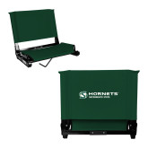 Stadium Chair Dark Green-Official Logo Flat