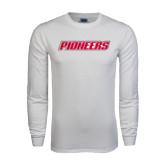 White Long Sleeve T Shirt-Pioneers