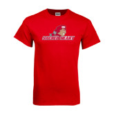 Red T Shirt-Sacred Heart w/ Pioneer