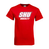 Red T Shirt-Hockey