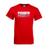 Red T Shirt-Pioneer Pride