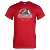 Red T Shirt-2018 NEC Football Champions