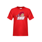 Youth Red T Shirt-Secondary Logo