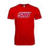 Next Level SoftStyle Red T Shirt-Primary Logo