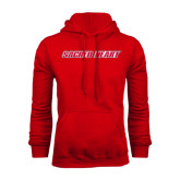 Red Fleece Hoodie-Sacred Heart