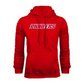 Red Fleece Hoodie-Pioneers