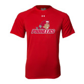 Under Armour Red Tech Tee-Pioneers w/ Pioneer