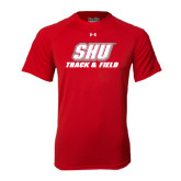 Under Armour Red Tech Tee-Track & Field
