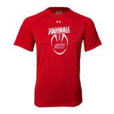 Under Armour Red Tech Tee-SHU Football