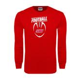 Red Long Sleeve T Shirt-SHU Football