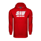 Under Armour Red Performance Sweats Team Hoodie-Grandpa
