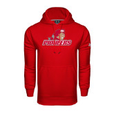Under Armour Red Performance Sweats Team Hoodie-Pioneers w/ Pioneer