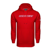 Under Armour Red Performance Sweats Team Hoodie-Sacred Heart
