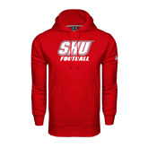 Under Armour Red Performance Sweats Team Hoodie-Football