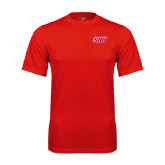 Syntrel Performance Red Tee-Primary Logo