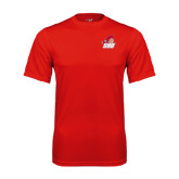 Syntrel Performance Red Tee-Secondary Logo