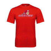 Syntrel Performance Red Tee-Sacred Heart w/ Pioneer