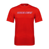 Syntrel Performance Red Tee-Sacred Heart