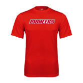 Syntrel Performance Red Tee-Pioneers