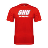 Syntrel Performance Red Tee-Baseball