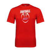 Syntrel Performance Red Tee-SHU Football