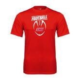 Performance Red Tee-SHU Football
