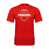 Syntrel Performance Red Tee-Pioneers Baseball Seams