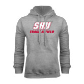 Grey Fleece Hoodie-Track & Field