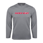 Performance Steel Longsleeve Shirt-Sacred Heart