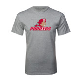 Grey T Shirt-Pioneers w/ Pioneer