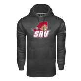 Under Armour Carbon Performance Sweats Team Hoodie-Secondary Logo