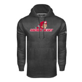 Under Armour Carbon Performance Sweats Team Hoodie-Sacred Heart w/ Pioneer