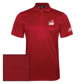 Adidas Climalite Red Grind Polo-Secondary Logo
