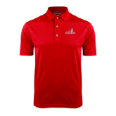 Red Dry Mesh Polo-Pioneers w/ Pioneer