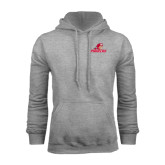 Grey Fleece Hoodie-Pioneers w/ Pioneer