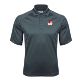 Charcoal Dri Mesh Pro Polo-Secondary Logo