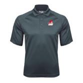 Charcoal Dri Mesh Pro Polo-Secondary Logo