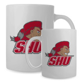 Full Color White Mug 15oz-Secondary Logo
